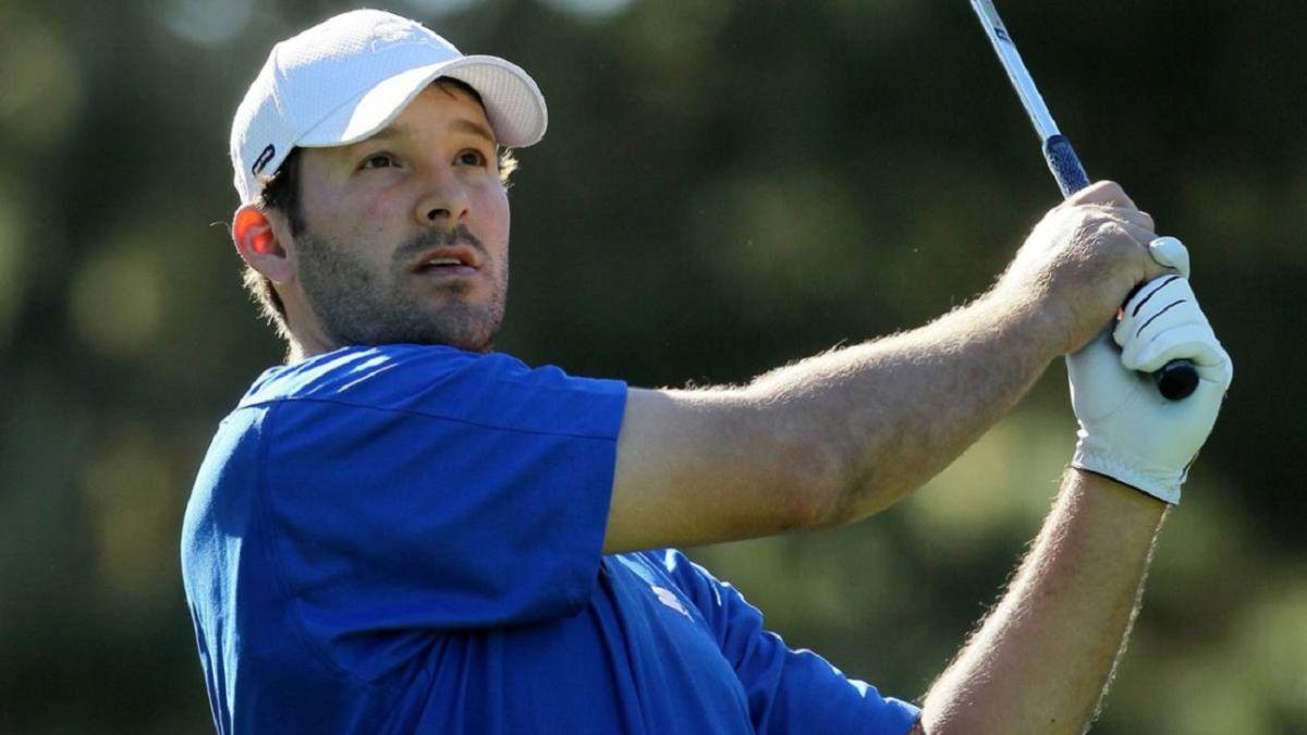 Tony Romo, de quarterback estrella a golfista