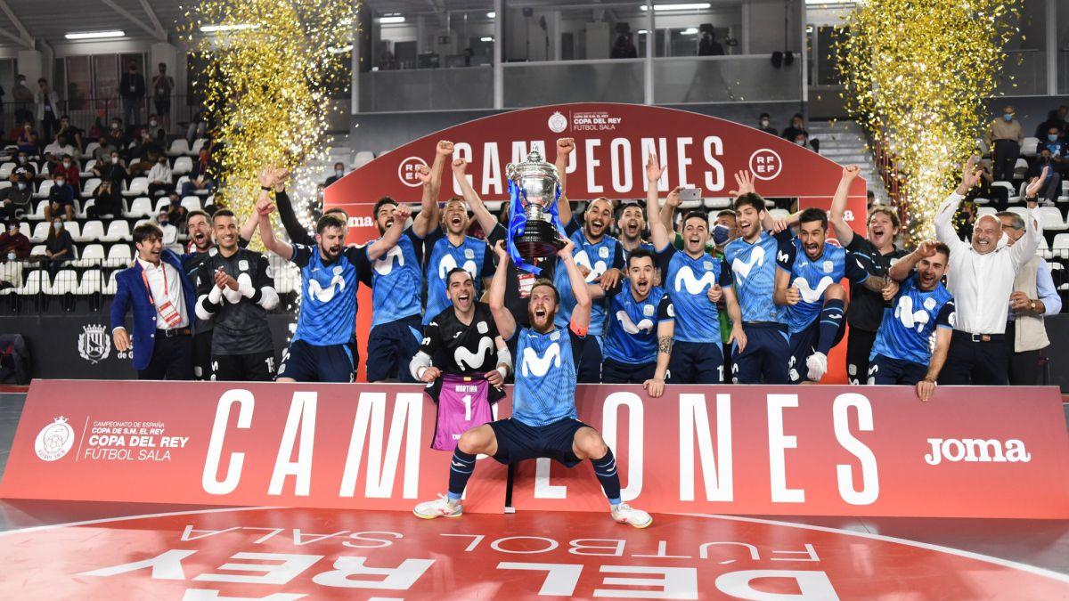 Inter Movistar logra su segunda copa del rey tras superar a ElPozo
