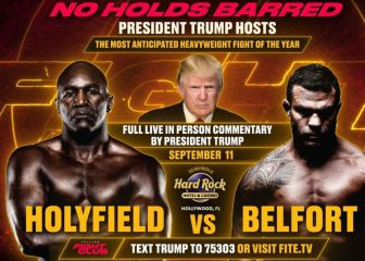 Holyfield are back ... and Trump