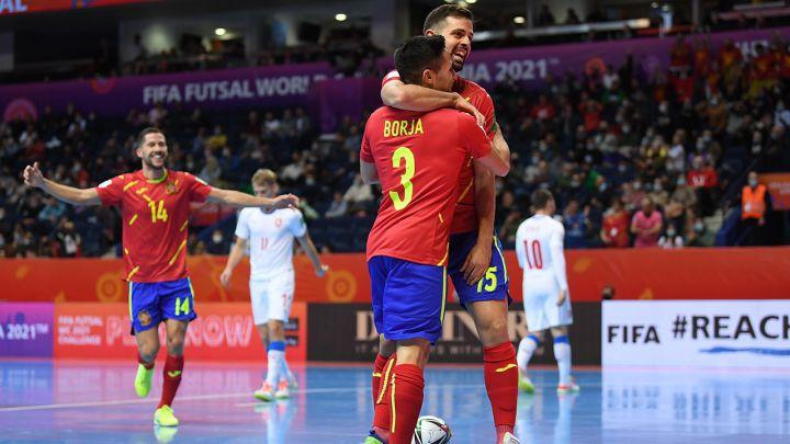 España - República Checa, en directo: resumen y resultado del Mundial de fútbol  sala - AS.com