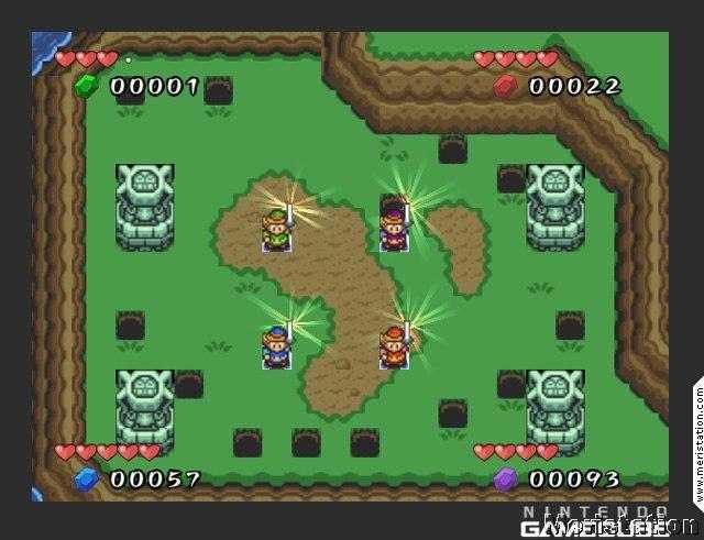 The Legend Of Zelda Four Swords Gamecube Meristation