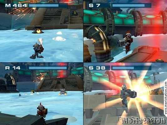 El Modo Multijugador De Ratchet Clank 3 Se Deja Ver Meristation