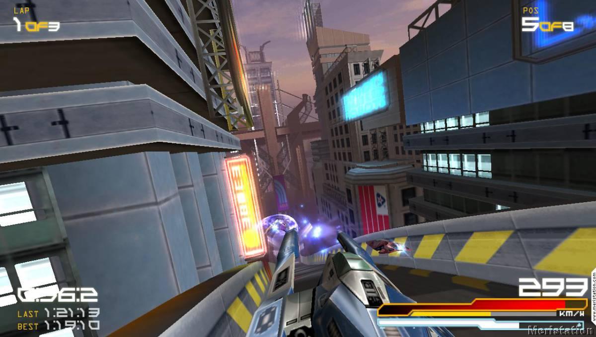 Circuito Wipeout : Wipeout pure videojuegos meristation