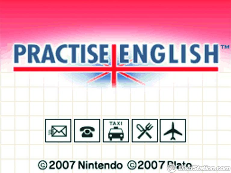practise english ds