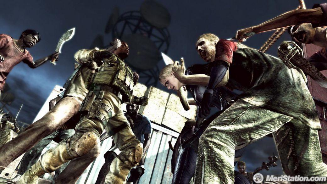 Imagenes De Resident Evil 5 Desperate Escape Meristation