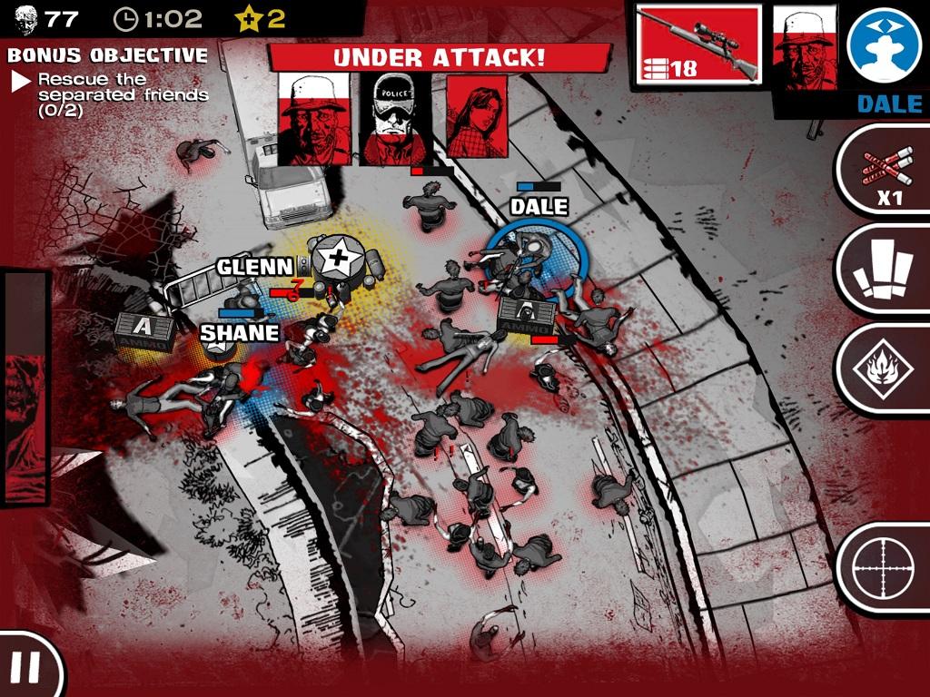 The Walking Dead Assault Videojuegos Meristation