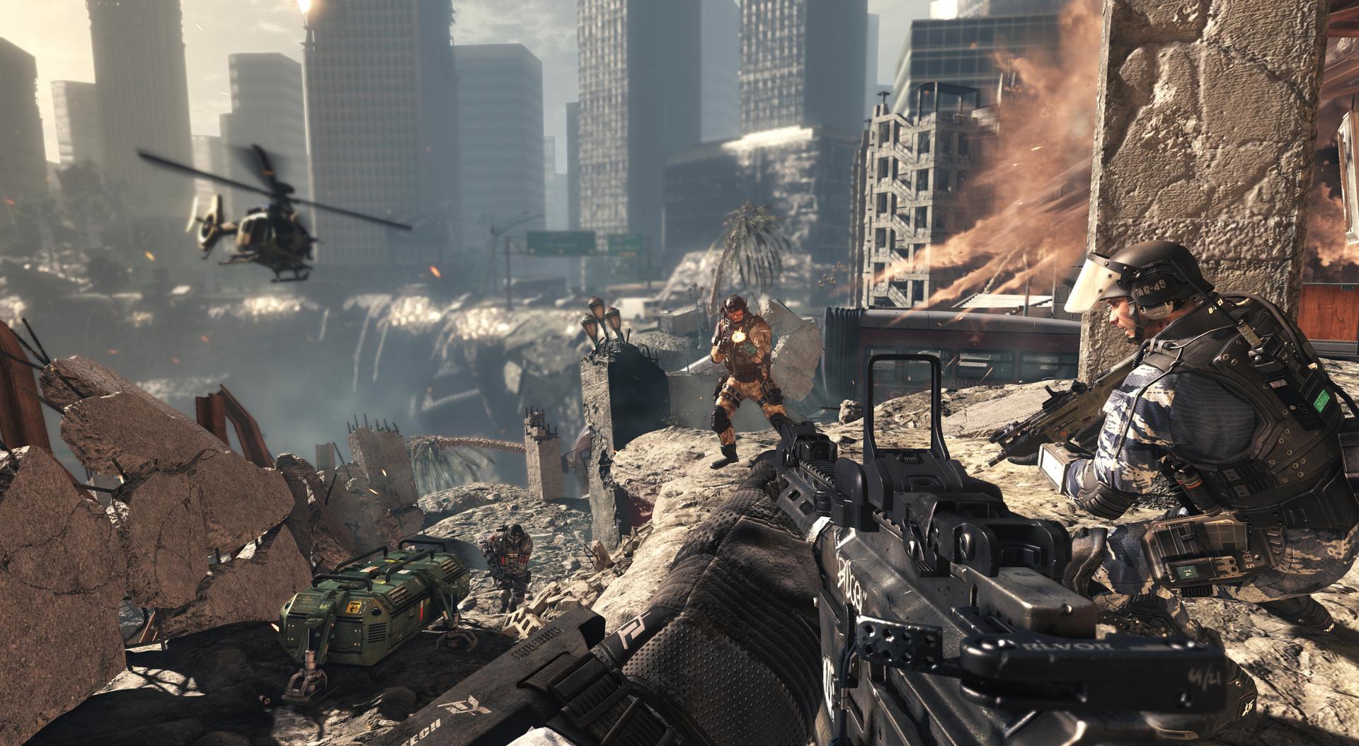 Menos Jugadores En El Multijugador Online De Call Of Duty Ghosts