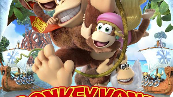 Donkey Kong Country Tropical Freeze para febrero