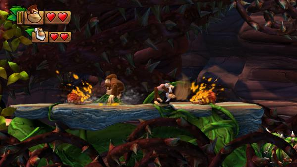 Donkey Kong Country: Tropical Freeze sería difícil en 3DS