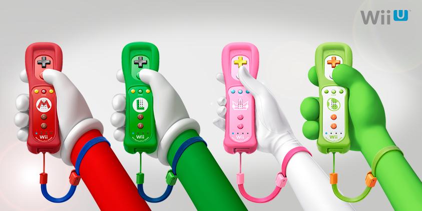 Nintendo lanzará Wiimotes de Mario, Luigi, Peach y Yoshi - MeriStation