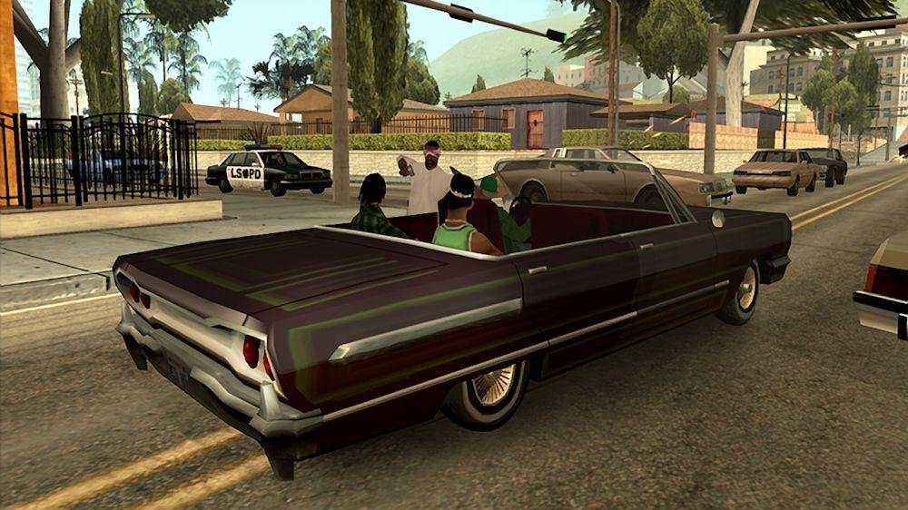 Grand Theft Auto San Andreas Hd Videojuegos Meristation