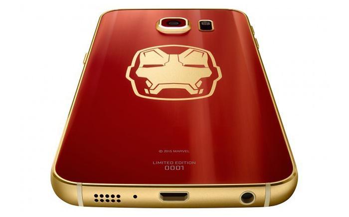 bcf29342979 Así es el Samsung Galaxy S6 Edge de Iron Man - MeriStation