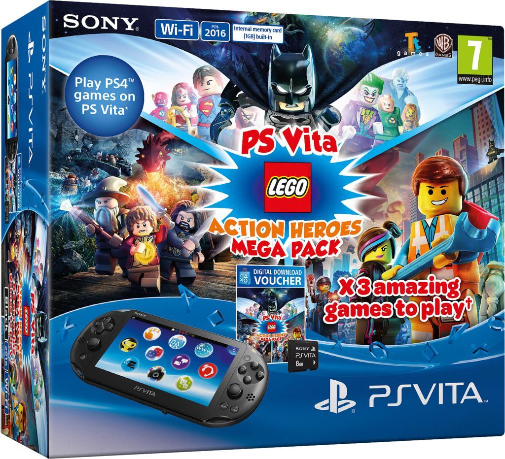 Mega Packs Para Playstation Vita Meristation