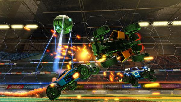Rocket League Futbol Accion Y Carreras De Coches Para Ps4