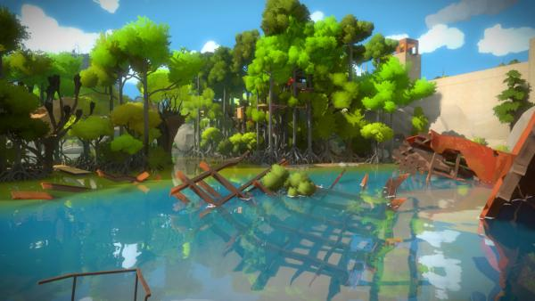 The Witness para Xbox One aparece sistema PEGI