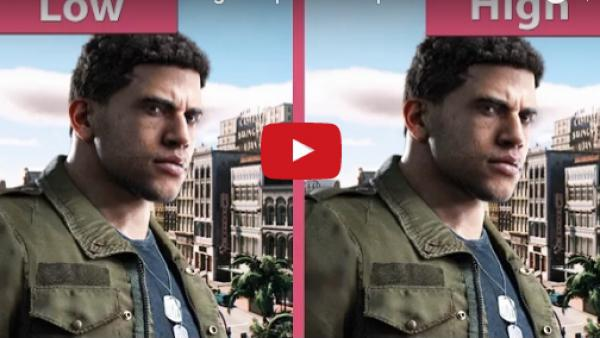 Mafia III - Comparativa gráfica en PC Ultra vs Low