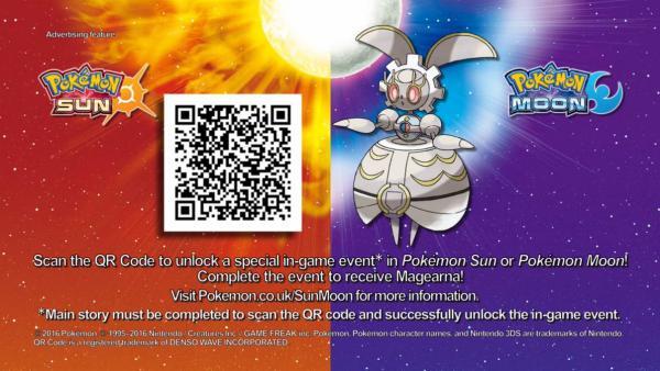 Pokemon Sol Y Luna Consigue Ya A Magearna Con Este Codigo Qr