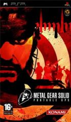 Carátula de Metal Gear Solid: Portable Ops