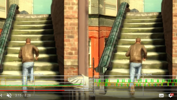 Comparan GTA IV en Xbox One vs Xbox 360