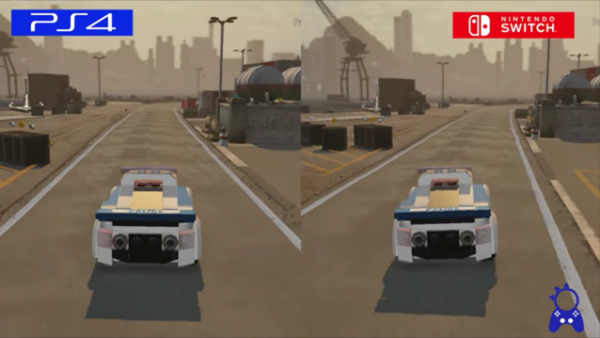 LEGO City Undercover: Comparativa PS4 vs Switch