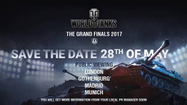 World of Tanks celebra su gran final este fin de semana
