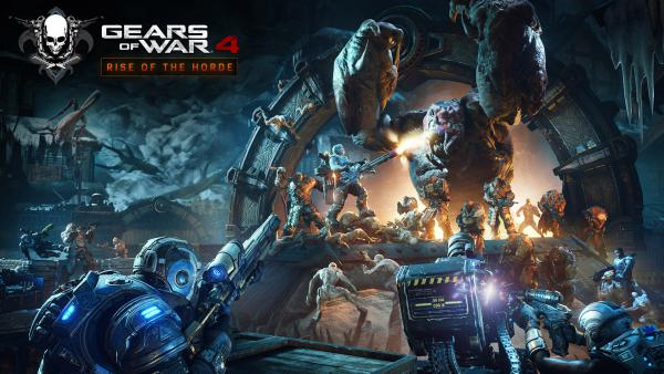 Así es Rise of the Horde, el DLC gratuito de Gears of War 4