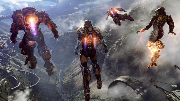 Anthem no funciona a 4K nativos en Xbox One X
