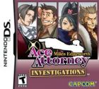 Carátula de Ace Attorney Investigations: Miles Edgeworth