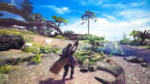 24 nuevos minutos de Monster Hunter World