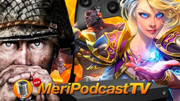 New MeriPodcast 11x08: Volvemos de la BlizzCon 17, Call of Duty: WWII y Xbox One X