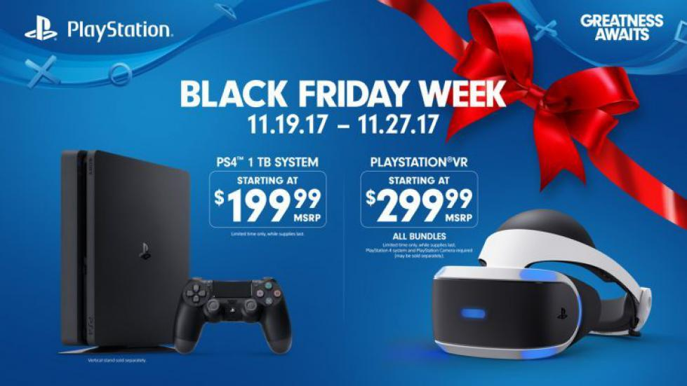 Black Friday: Sony anuncia sus ofertas para PS4 y PS VR