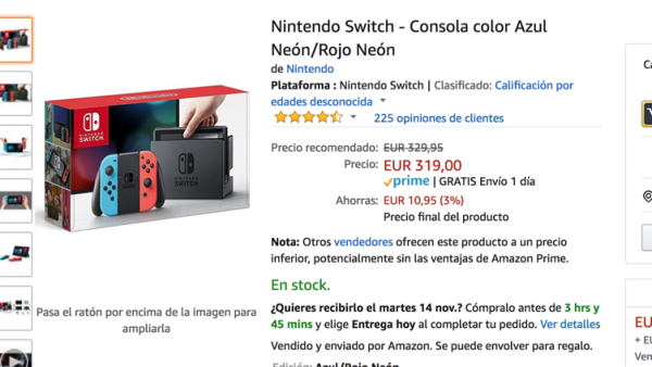 Cazando Ofertas Esperar Al Black Friday Para Comprar Switch