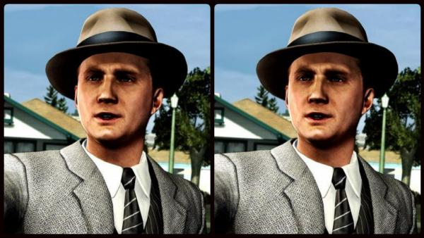 Comparativa gráfica L.A. Noire en Switch vs PS4