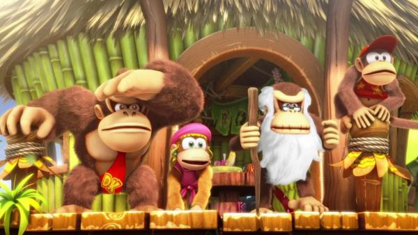 Donkey Kong Country Tropical Freeze llegará a Switch