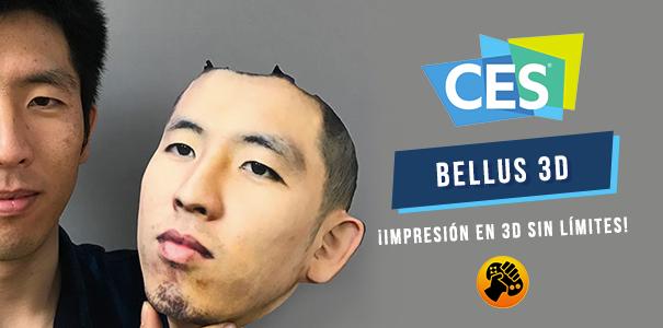 CES 2018: ¡Bellus 3D nos permite imprimir casi cualquier cosa