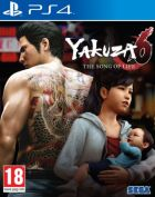 Carátula de Yakuza 6: The Song of Life