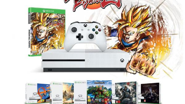 Saiyan Box: Xbox One S + Juego + Dragon Ball FighterZ por 279€