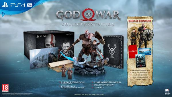 God of War se muestra en espectaculares nuevos artworks