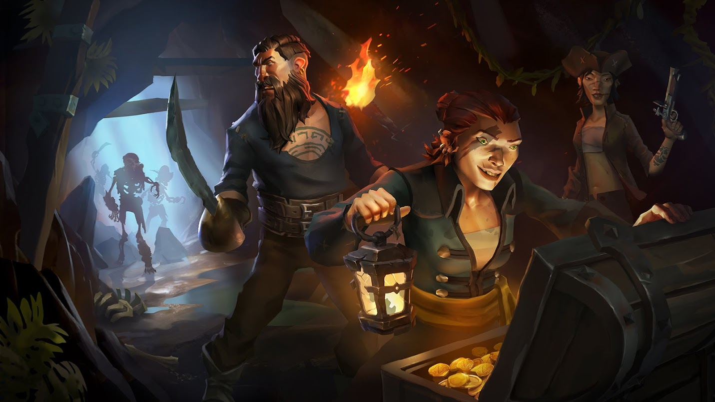 Sea of Thieves comienza otro test de escala
