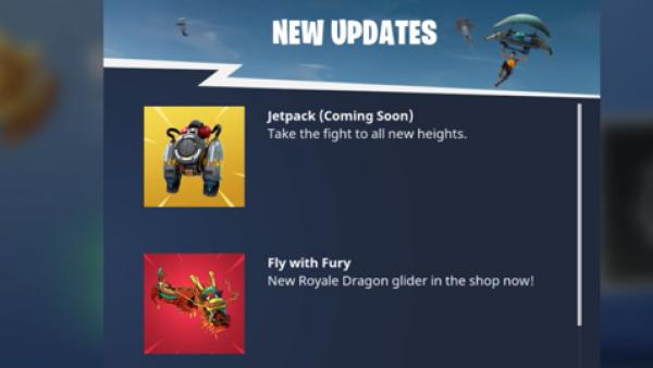 Fortnite confirma la llegada de los Jetpacks