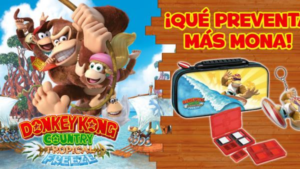 Donkey Kong Country Tropical Freeze, a precio completo en Switch