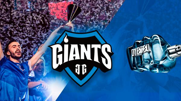 Giants y DIESEL Only The Brave triunfan con League of Legends