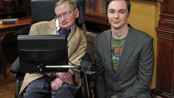 The Big Bang Theory rinde homenaje a Stephen Hawking