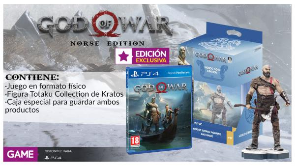 Así es la edición limitada God of War Norse Edition