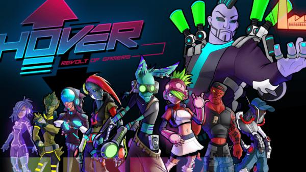 Hover: Revolt of Gamers confirma juego cruzado entre Switch, Xbox y PC