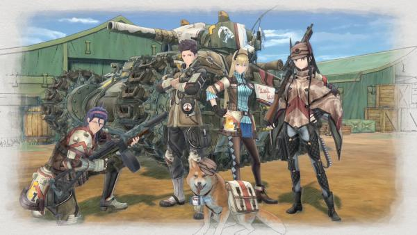 Valkyria Chronicles 4 no consigue superar a Kirby en Japón