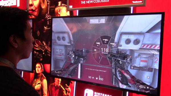 Primer gameplay de Wolfenstein II en Nintendo Switch