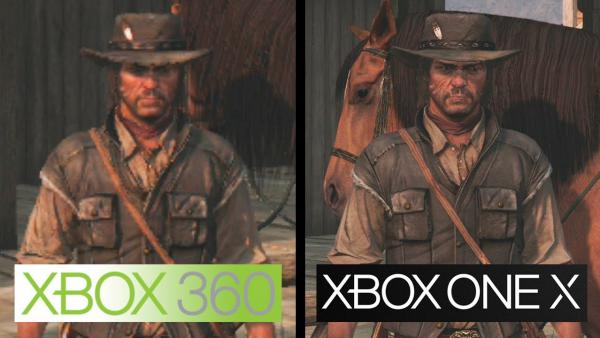 Red Dead Redemption: comparativa gráfica Xbox One X en 4K vs 360