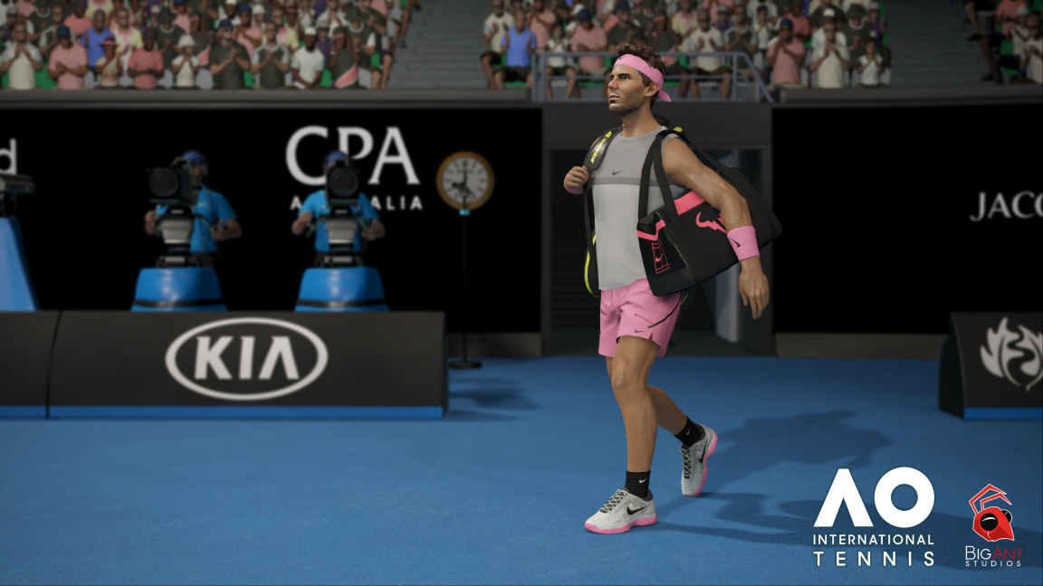 AO International Tennis llegará a PS4 y Xbox One en mayo