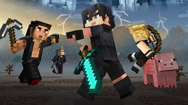 Final Fantasy XV llega a Minecraft como pack de apariencias